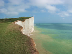 Beachy Head from west
