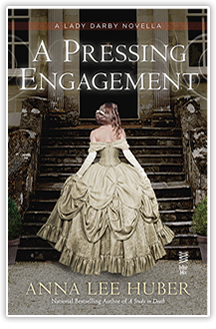 A Pressing Engagement - By Anna Lee Huber