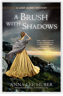 A Brush With Shadows - By Anna Lee Huber