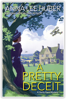Verity Kent Mysteries - A Pretty Deceit - By Anna Lee Huber